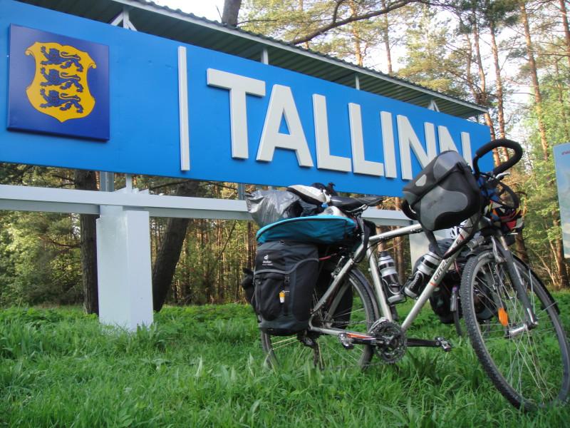 Arrivée à Tallin Estonie