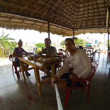 Chez El Abuelo avant San Pelayo
