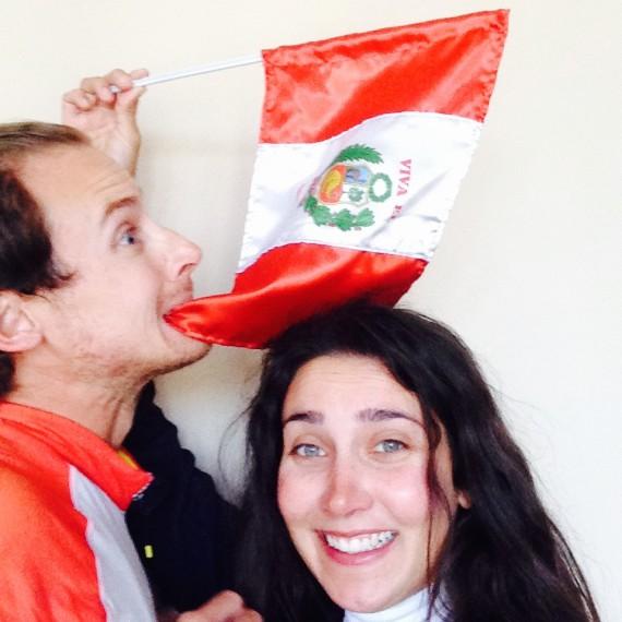 Selfie Pérou