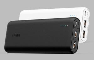 comment recharger ses appareils avec une batterie Anker